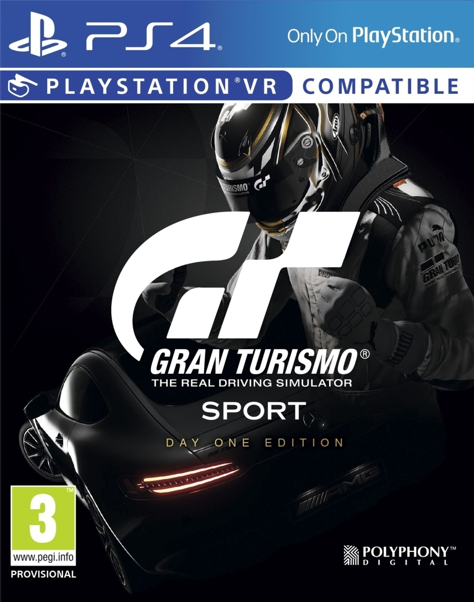 Gt Sport Gran Turismo Sport Day One Edition PL (PS4)